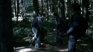 The100 S3 Wanheda Part 2 Kane Bellamy Monty 3