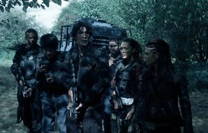 The100 S3 Wanheda Part 1 Miller Monty Bellamy Jasper Raven Octavia