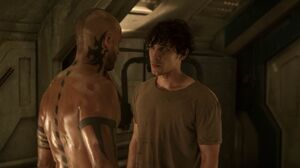 The100 S3 Wanheda Part 1 Bellamy Lincoln 3
