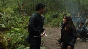 We Are Grounders (Part 1) 042 (Bellamy and Octavia)
