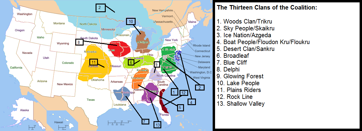 Image The 13 Clans Of The Coalition My Map Png The