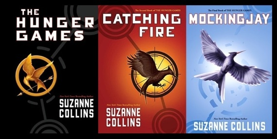 Image result for the hunger games books