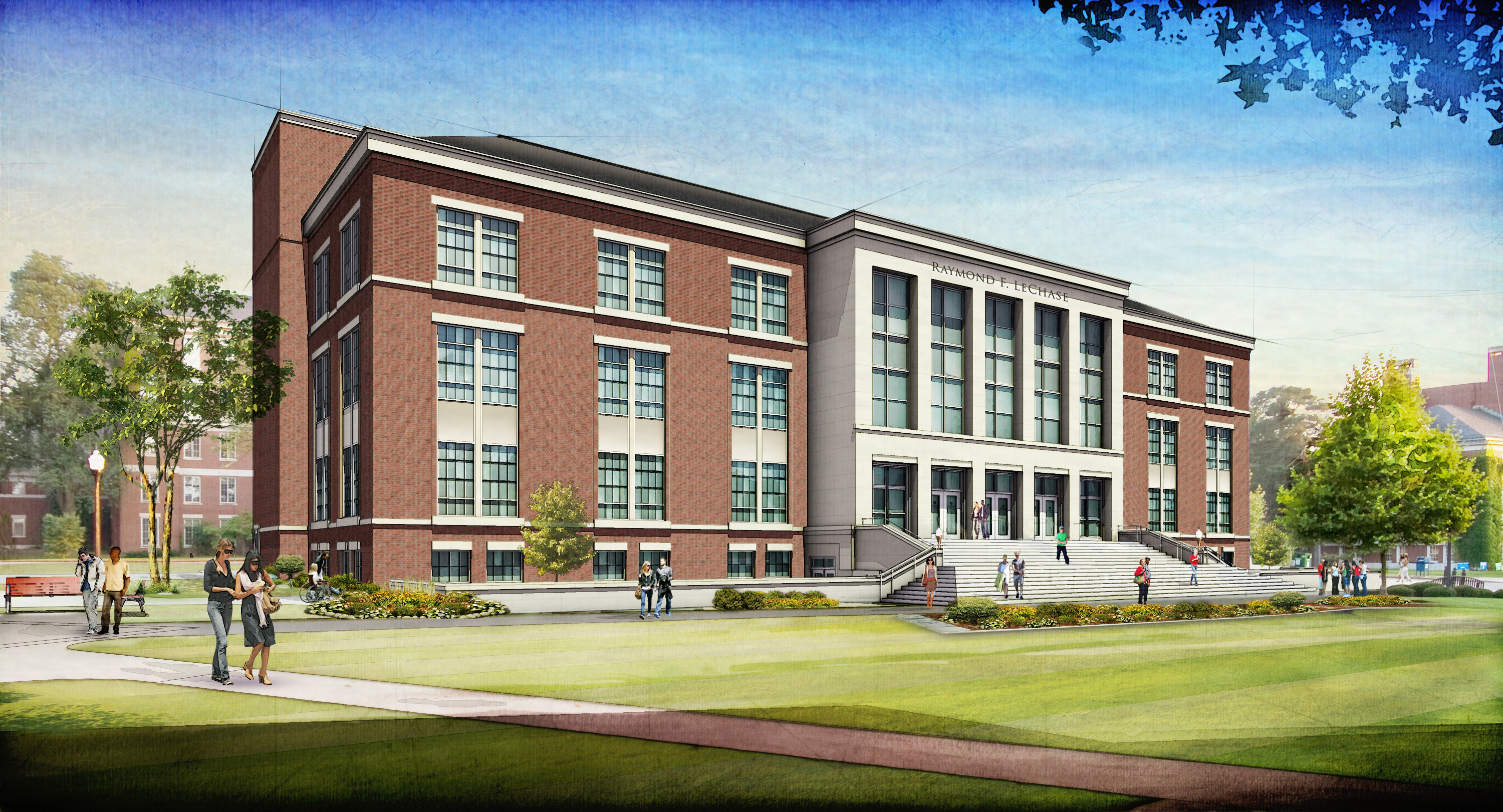 School Building Stock Photo, Picture And Royalty Free Image. Image ...