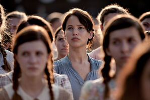 Katniss at reaping