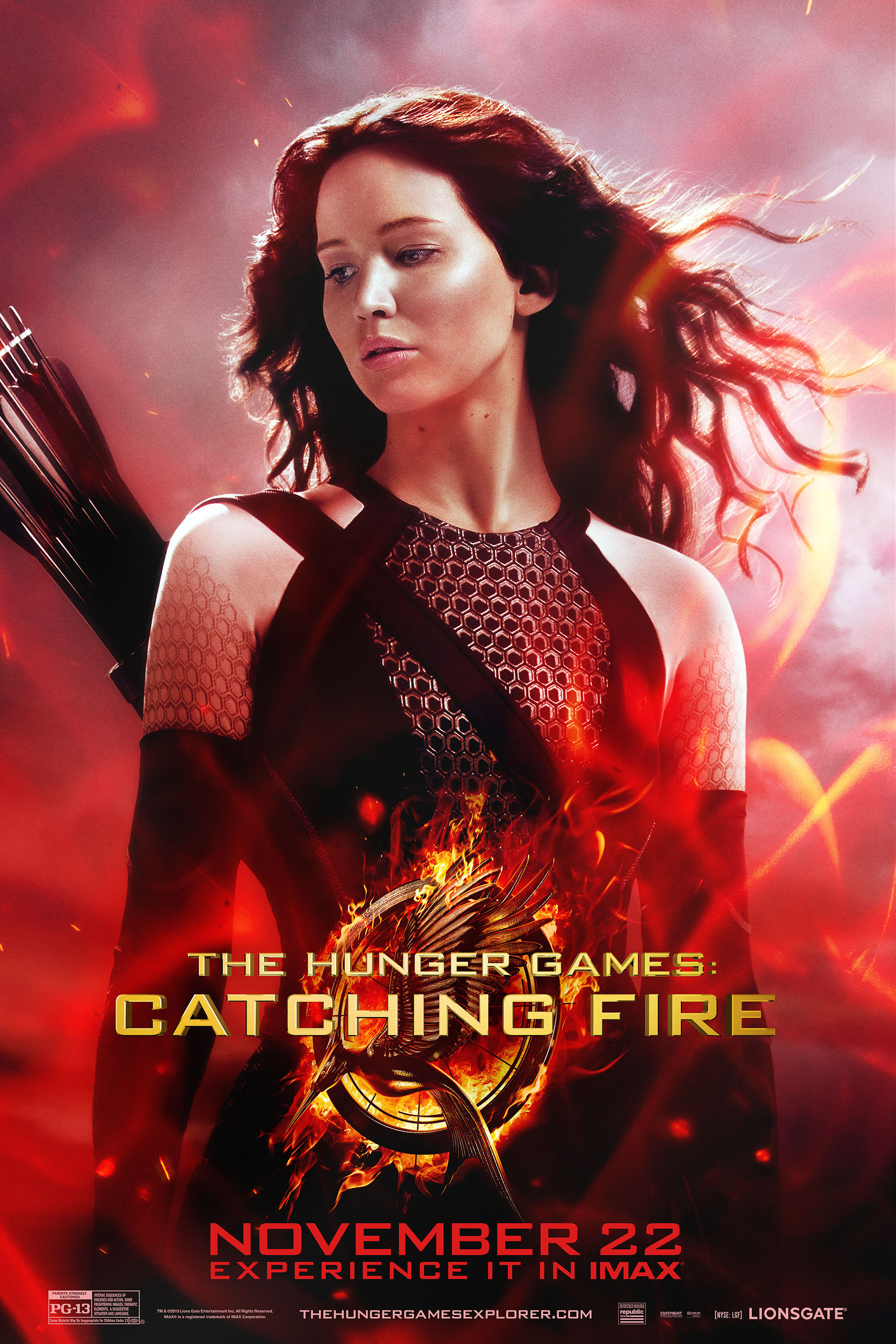 Image result for catching fire poster