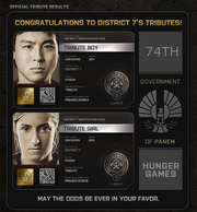 District 7 Tributes