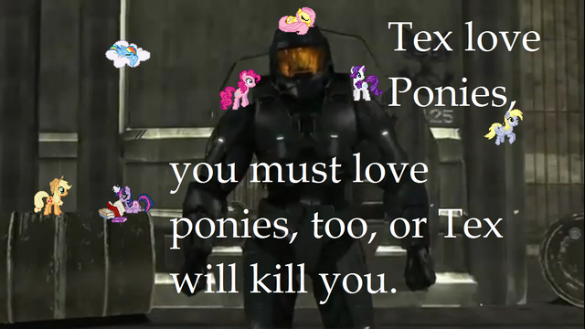 File:53140 - agent texas applejack derpy hooves desktop ponies fluttershy pinkie pie rainbow dash rarity red vs blue rooster teeth Tex twilight sparkle.png