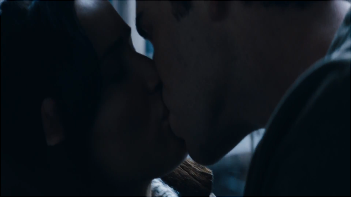 Gale And Peeta Kissing ―katniss After Kissing Gale