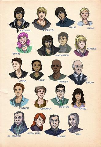 File:Hunger Games Cast fanart - Mockingjay.net.jpg
