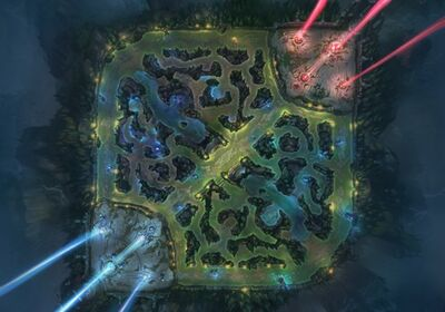 Summoners Rift Concept Art