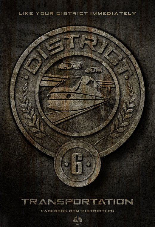 Hunger Games District 12 Sign District 6 | The Hunge...