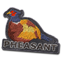 Pheasant badge