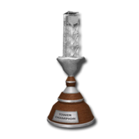 Trophy tower silver