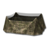 Waterfowl blind summer swamp camo table 256