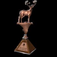 Trophy mule bronze