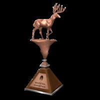 Trophy wt bronze