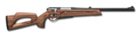 Bolt action rifle 223 wood 256
