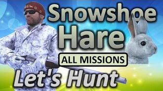 TheHunter Let's Hunt SNOWSHOE HARE