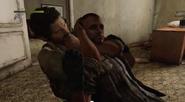 Joel strangling