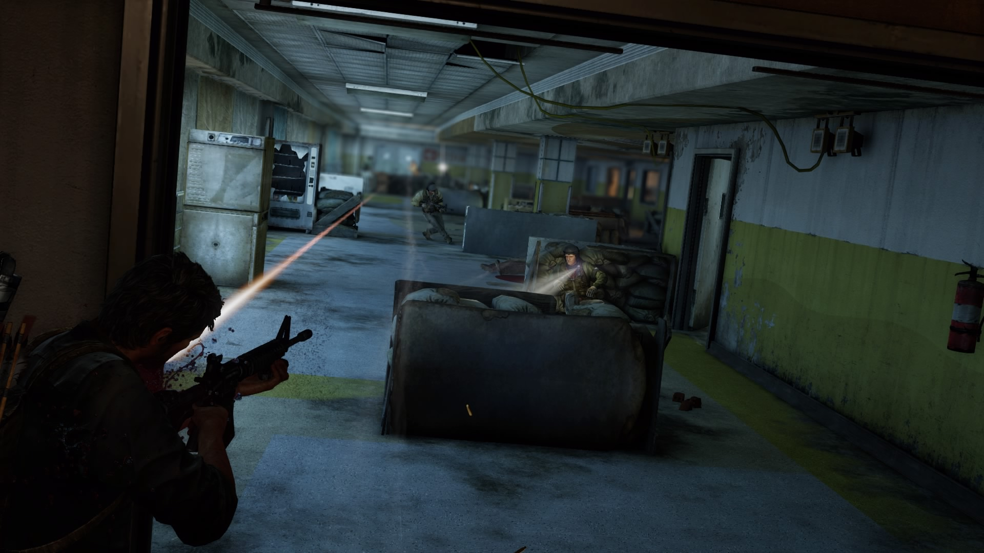 The Firefly Lab The Last Of Us Wiki FANDOM Powered By Wikia - The last of us lake resort map