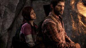 Joel and Ellie Horseback