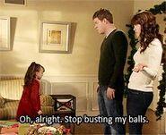 Stop busting my balls