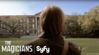 THE MAGICIANS (Clips) Welcome To Brakebills University Syfy