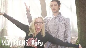 THE MAGICIANS Making Magic Season 2, Episode 3 Syfy