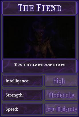 Fiend Improved Infobox
