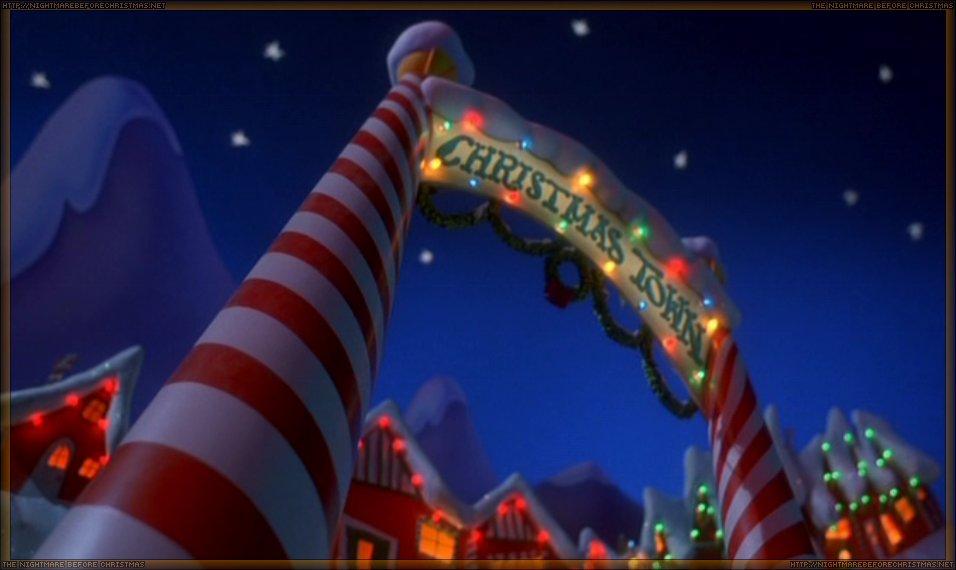 Christmas Town | The Nightmare Before Christmas Wiki | FANDOM ...