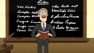 S5E22.108 Latin Teacher