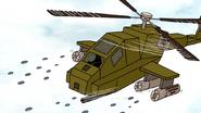 S7E13.150 Police Chopper Firing Beanbags