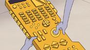 S6E16.149 Benson Presses a Button on the Universal Remote