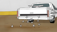 S4E21.161 The Stallion Dropping Tire Spikes
