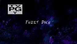Fuzzy dice