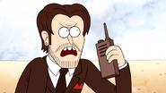S6E18.192 Rich Steve Calling for an Air Attack