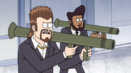 S4E36.218 Vince and Tommy Armed with Rocket Launchers