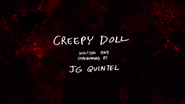 Creepy Doll Title