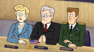 S6E08.209 Secretary Clifton, President Davis, and General Pat McMurphy