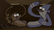 S6E13.219 Mordecai and Rigby Going OOOOH! in a Crate