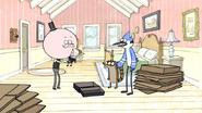 S3E04.017 Mordecai Telling Pops to Throw Percy Away