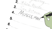S4E34.081 Muscle Man Signing His Name