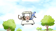 S7E13.030 Joyriding in the Cart with Applesauce