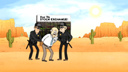 S6E14.025 Maurice the Stockbroker Getting Arrested in the Desert