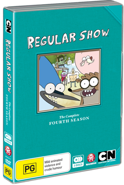 regular show the complete fourth season regular show