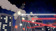 S6E16.279 The Wi-Fi Tower Being Destroyed by Lasers