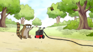 S5E31.013 Rigby Watching a Butterfly