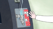 S4E26.119 Dr. Henry Pressing Buttons on the Shrink Machine