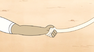S6E02.156 Muscle Man and Hi-Five Shake Hands 01