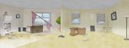 S4E36.045 Benson's Wrecked Apartment
